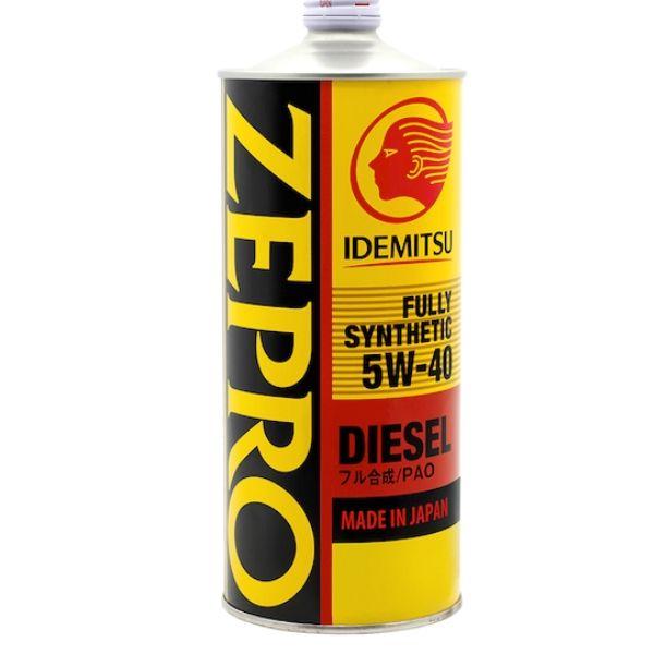 5/40 Zepro Diesel IDEMITSU F-S   1л. синт. API CF Масло моторное /кор.20шт./ ж/б /выведено/