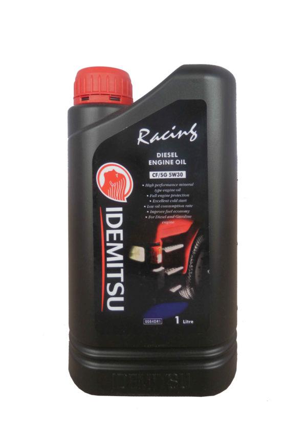 5/30 Racing Diesel IDEMITSU  1л. мин. API CF/SG Мало моторное /кор.24шт./ выведено/