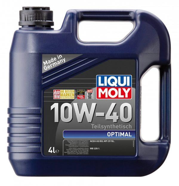 10/40 Optimal LIQUI MOLY   5л. п/синт. API CF/SL Масло моторное /кор.4шт./(5по цене 4)