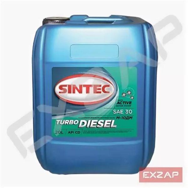 М-10ДМ SINTEC Турбо Дизель   20л API CD масло моторное мин.