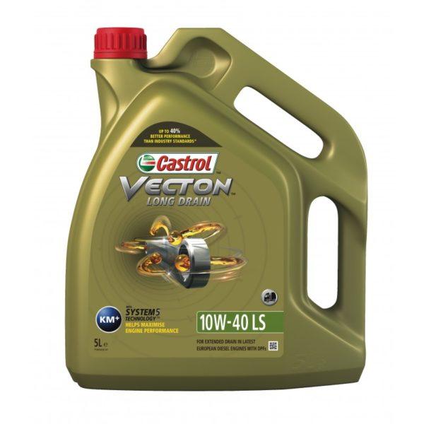 10/40 Vecton Long Drain Castrol   5л. синт. API CF Масло мотор. для ком. тр-та /кор.4шт./выводится/