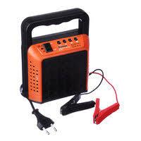 Зарядное устройтво ЕРМАК трансформаторное автомат 6А, 6В/12В, пластик. корпус